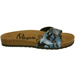 Claquette Pepe Jeans Bio camu single buckle 52131