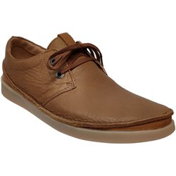 Oakland lace Marron clair cuir