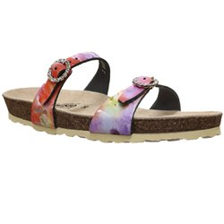 Norie Multi rose cuir