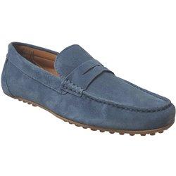 14j198 Bleu Jeans Daim