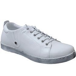 0348736 sneaker Blanc cuir 71205
