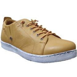 0348736 sneaker Jaune cuir 71220