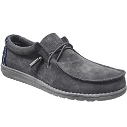 Wally suede Gris velours