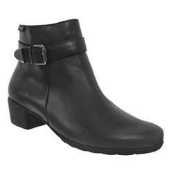 Idalie Noir cuir