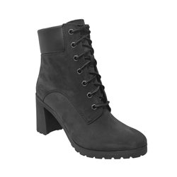 Allington 6 in boot Noir nubuck 73085