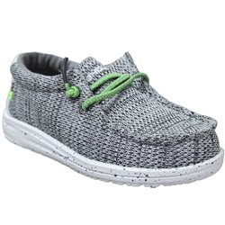 Wally kids sox Gris toile