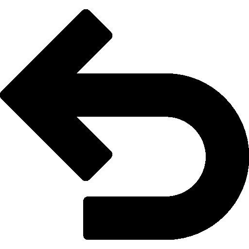 icone fleche retour
