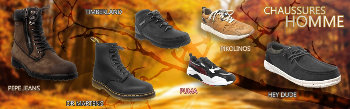 Chaussures Homme Automne hiver 2020