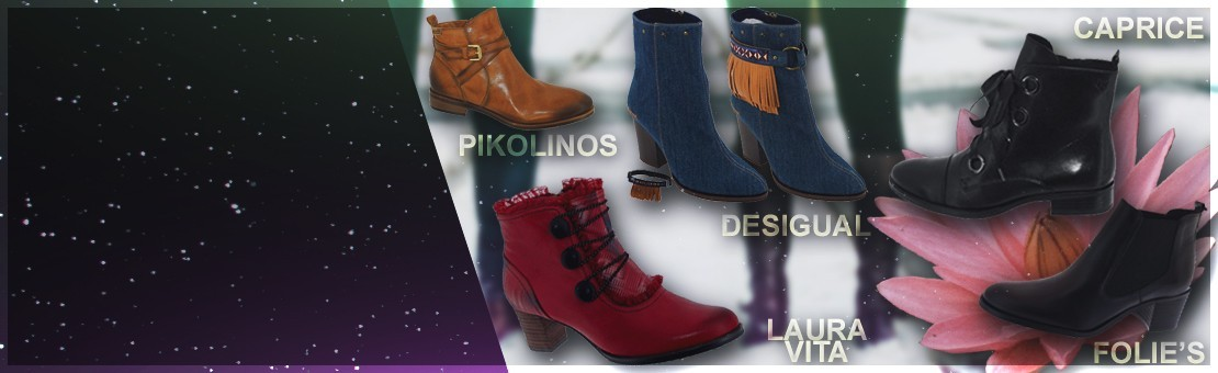 Bottines et boots pour Femme hiver 2018/2019